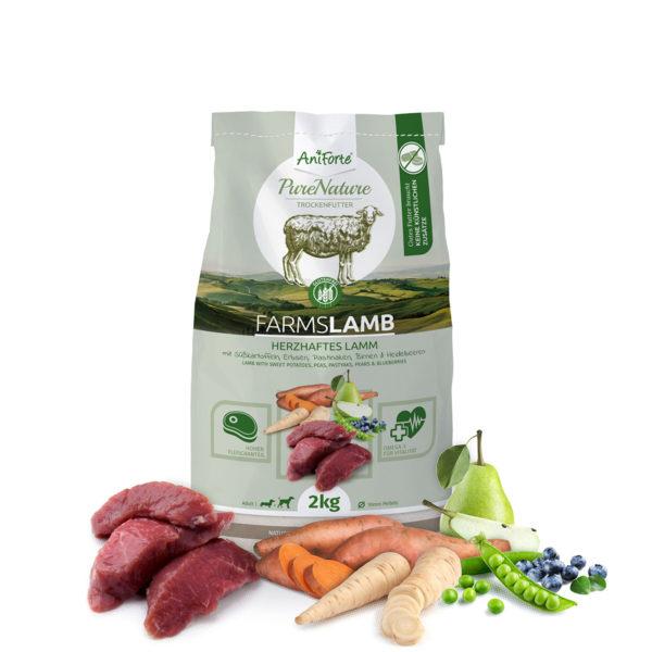Produktbild_Natürliches Trockenfutter Lamm