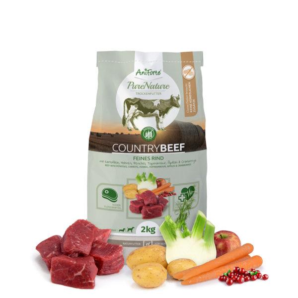 Produktbild_Natürliches Trockenfutter Rind